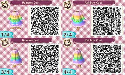 Rainbow Coat by FairyQueenSerenity