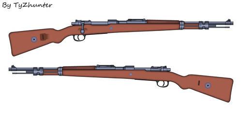 Kar98 Rifle by TyZhunter