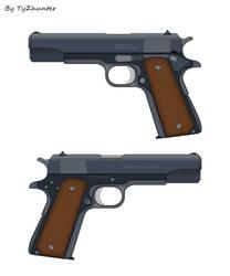 45 Pistol by TyZhunter