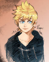 Roxas by musicandsketches