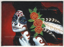 Day Of The Dead No1 by charlesartist