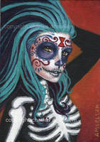 Day Of The Dead No. 3 by charlesartist