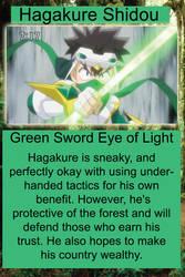 Hagakure Card by animemaster9009