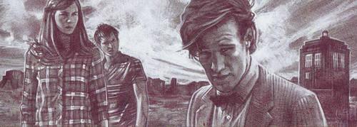 Doctor Who - Pencil Study by JeffLafferty