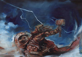 Mjolnir - Thor's Hammer by JeffLafferty