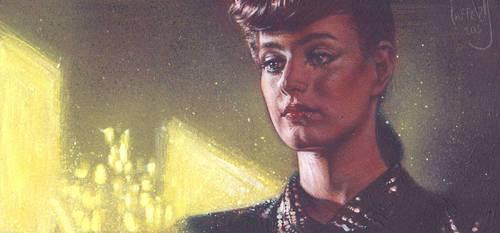 Rachel from Blade Runner by JeffLafferty