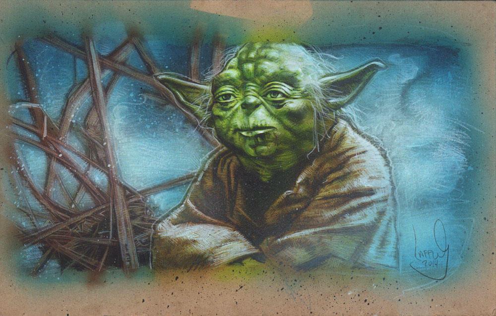 Jedi Master Yoda By Jefflafferty On Deviantart