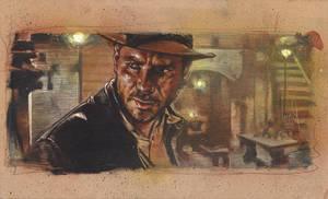 Indiana Jones by JeffLafferty