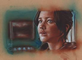 Jennifer Lawrence, Hunger Games by JeffLafferty