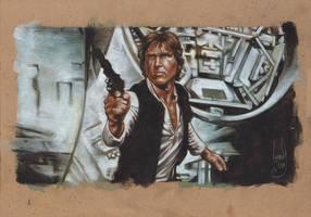 Han Solo by JeffLafferty