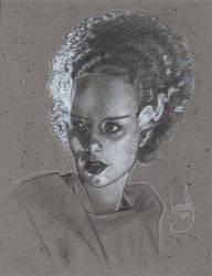 Bride of Frankenstein by JeffLafferty