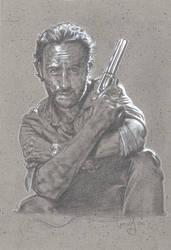 Walking Dead, Rick Grimes by JeffLafferty