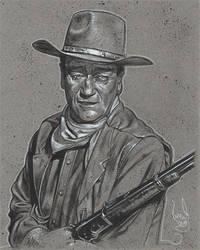 John Wayne by JeffLafferty