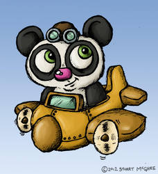 Panda Airways by stuartmcghee