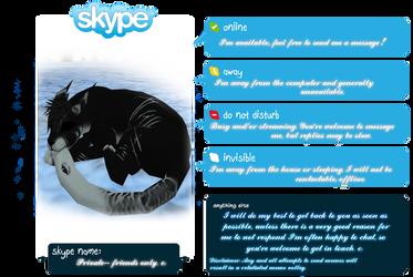 Nynx's Skype Availability by warriorstrike