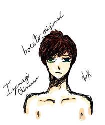 Original-sketch-Izanagi-Chinoiro by MissCompulsiva