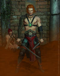 DUNE: FEYD RAUTHA: In the Harkonnen's arenas... by NEWATLAS7