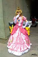 happy princess peach by maggifan