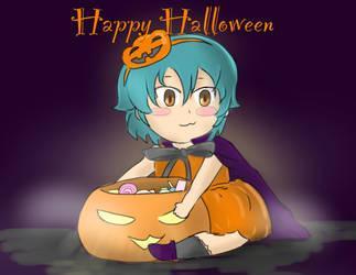 Baby Kariya Pumpkin Halloween by maggifan