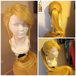 Samus wig commission by maggifan