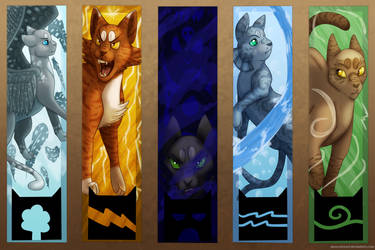 Five Powerful Clans by MossclawArt