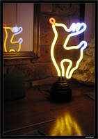 Electric Reindeer by MedNez