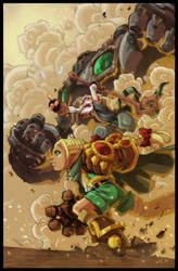 Battle Chasers Colors by nfteixeira