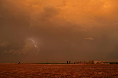 Lightning - West Texas VII by Test-Grave