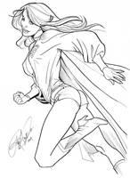 NYCC 09 - Retro Super Girl by Arzeno