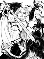 Forney's Scarlet Huntress by Arzeno