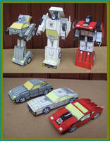 AUTOBOT OMNIBOTS MADE IN CARDBOARD by Paperman2010