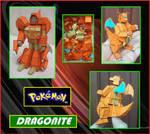 El Pokemon Dragonite es un Transformer de Papel by Paperman2010