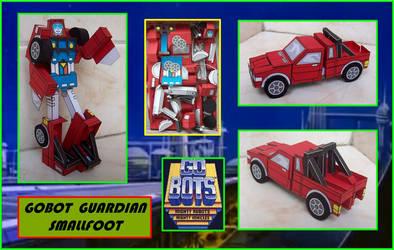 Gobot Guardian Smallfoot hecha en Cartulina by Paperman2010