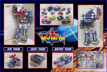 Voltron Vehiculos Hecho En Cartulina by Paperman2010