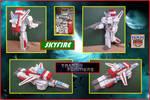 Autobot Skyfire Hecho En Cartulina by Paperman2010