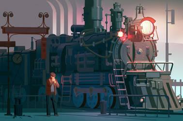 Train by Butjok