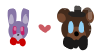 FNAF Ships - Fronnie stamp by spookiibunn