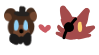 FNAF Ships - Frexy Stamp by spookiibunn