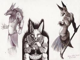 Anubis by riftryu