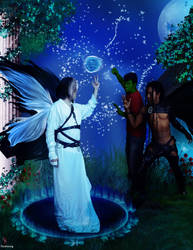 Confrontation of the Seelie by Ferelwing