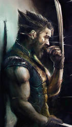 Tom Hardy as the Wolverine by JimmyVong