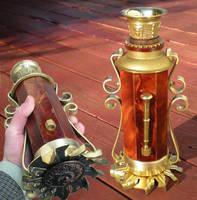 Edwardian portable lamp by Tobesane