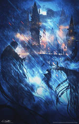 Guarding Hogwarts by Eliott-Chacoco