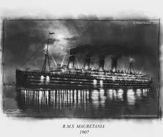 Mauretania at Night by Eliott-Chacoco