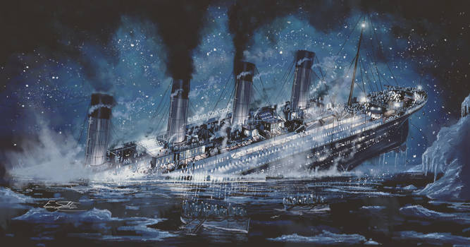 Unsinkable Titanic by Eliott-Chacoco