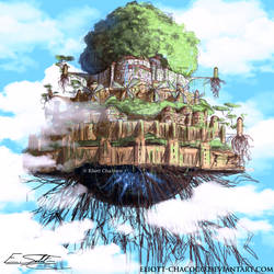 Castle in the Sky by Eliott-Chacoco