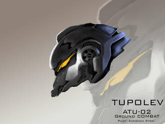 Mecha Head Concept: Tupolev by bcetin