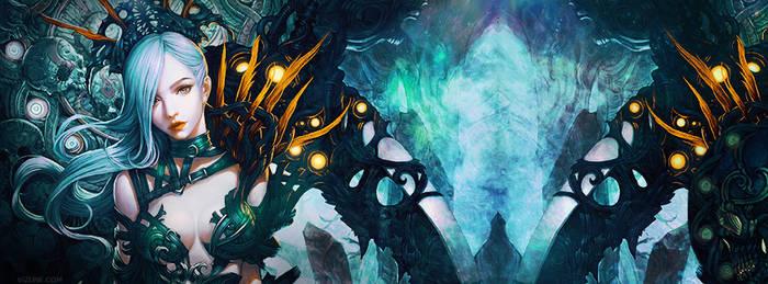 Facebook cover - Obelisk Nocturna by vizune