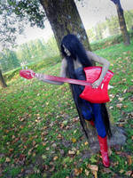 Marceline - solo bass by ElyNeko
