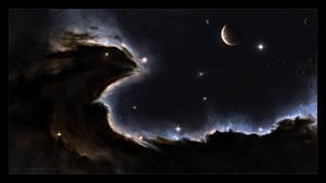 The Dragon Nebula by Sniper115A3